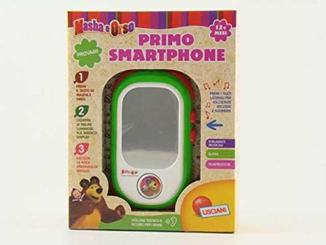 Masha e Orso Primo Smartphone Lisciani