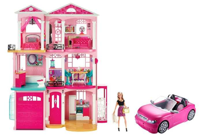 TOPIC DEGLI AUGURI. Compleanni, Onomastici, date da ricordare - Pagina 24 Casa-dei-Sogni-DPR49-Auto-Barbie-Mattel