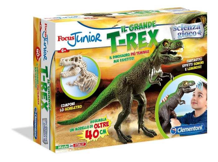 Focus Junior Scienza e Gioco Il Grande T-Rex Clementoni 13904