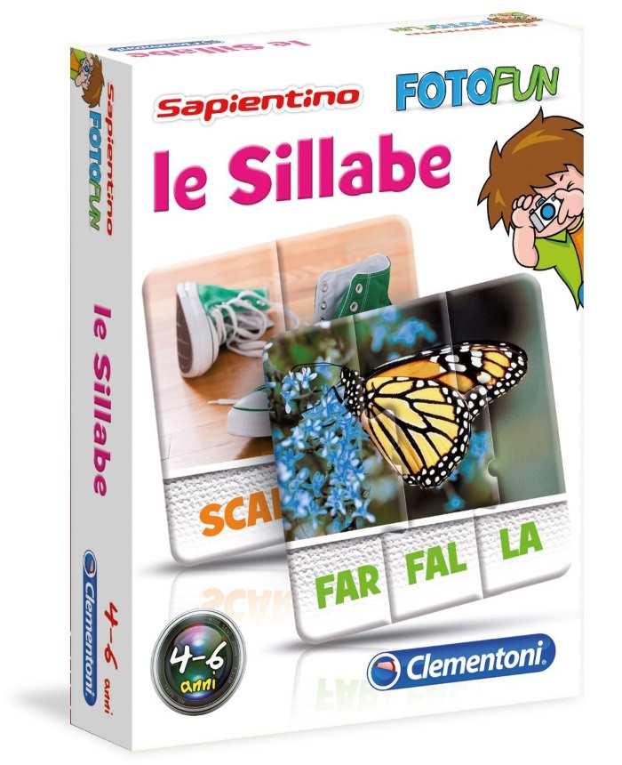 Fotofun Sillabe Sapientino Clementoni