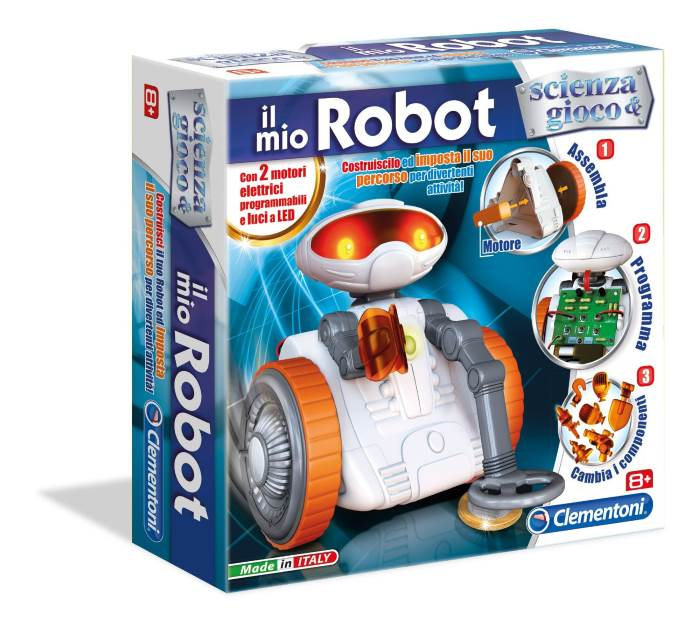 Il Mio Robot Scienza E Gioco Clementoni