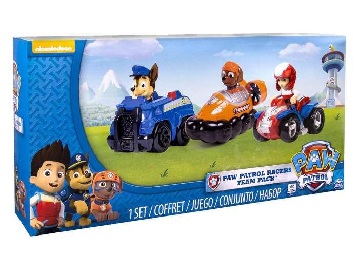 Paw patrol rescue zuma veicoli personaggi spinmaster