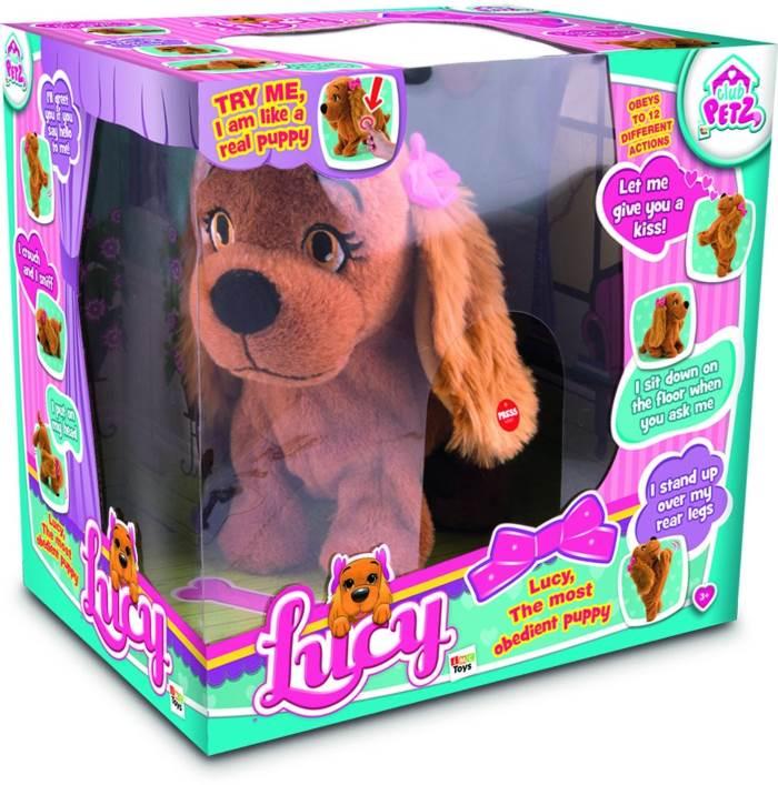 Cagnolina Lucy Il Cucciolo Interattivo Obbediente Club Petz IMC Toys