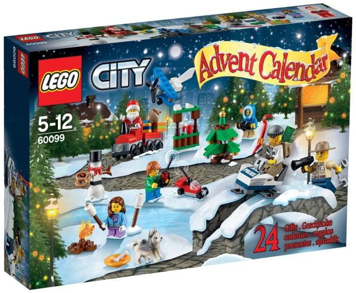Calendario dell'Avvento Lego City, Star Wars e Playmobil