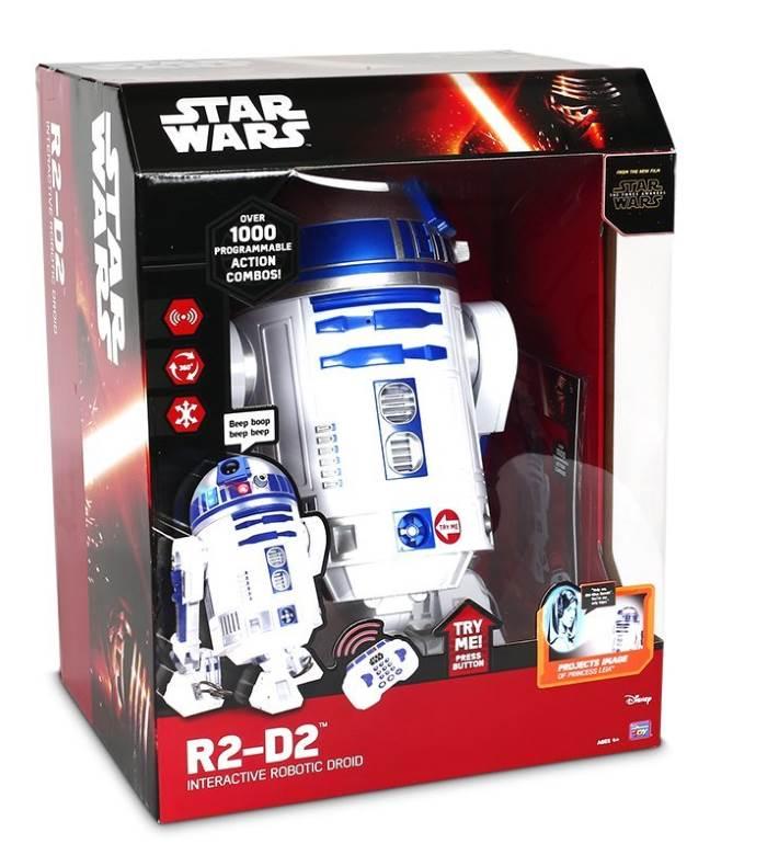 R2 D2 Droide Interattivo Star Wars Giochi Preziosi