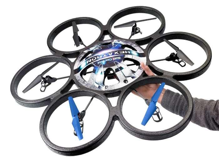 Drone Multicopter Revell con 6 eliche leggero e silenzioso