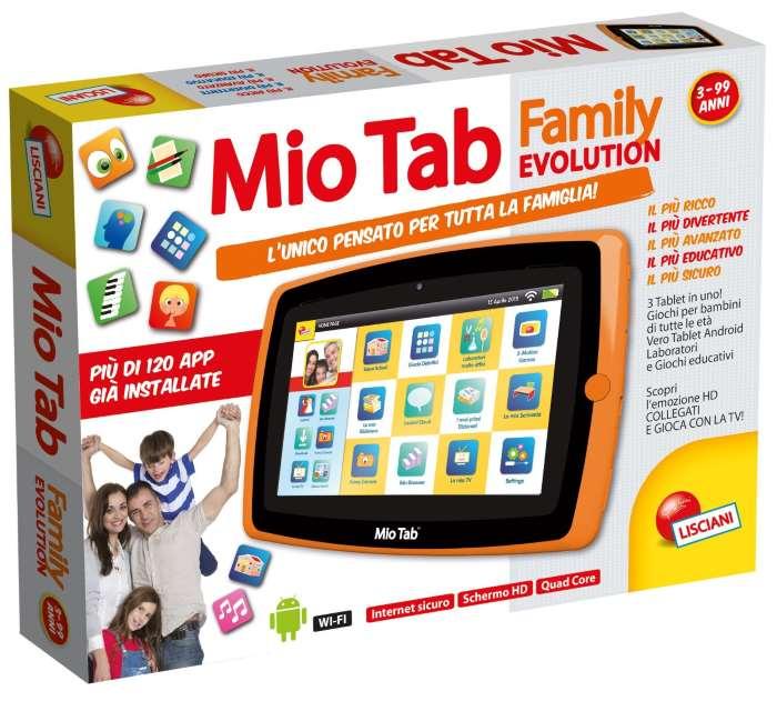 MIO TAB FAMILY: Tablet per la famiglia di Lisciani Giochi