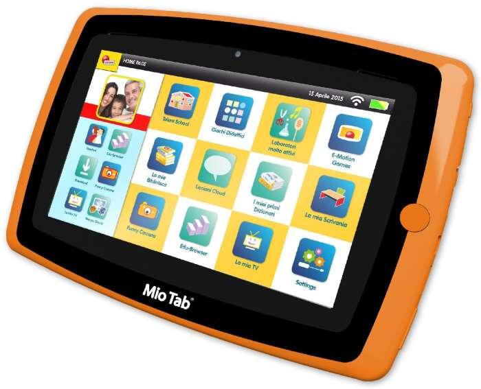 tablet famiglia bambini
