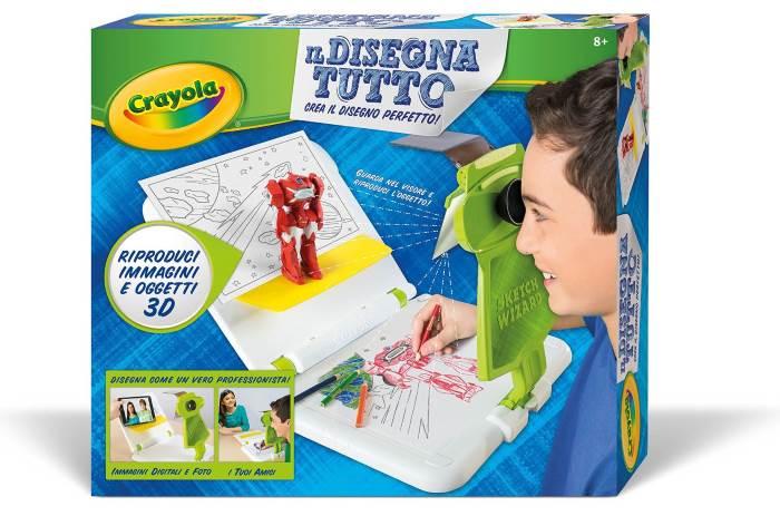 Il DisegnaTutto Crayola: come disegnare oggetti 2D e 3D