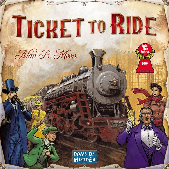 Ticket To Ride Asterion: gioco da tavolo