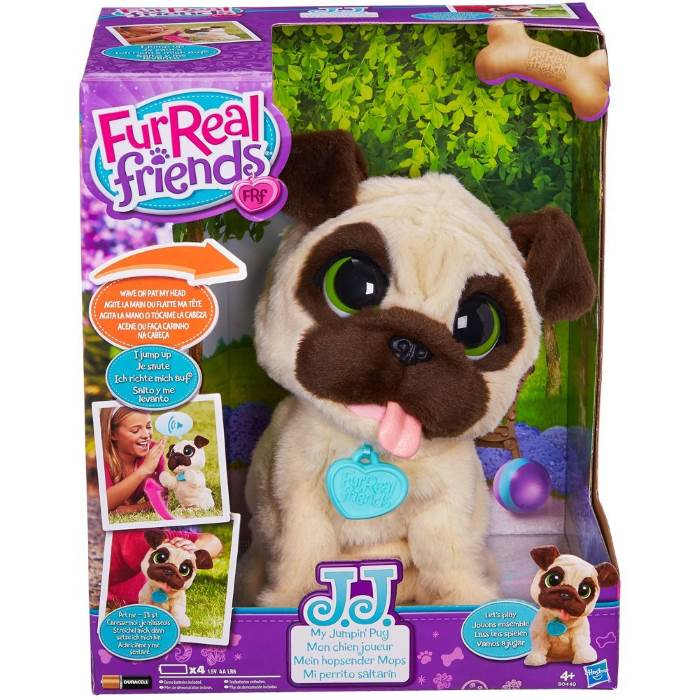 Fur Real Friends JJ Cane Carlino Hasbro