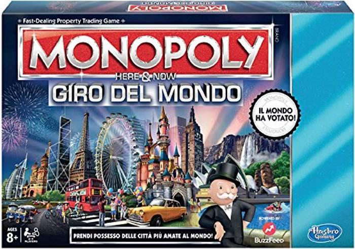 Monopoly Giro Del Mondo Hasbro