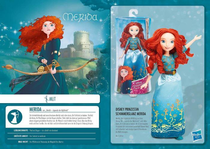 Merida Fashion Doll di Hasbro