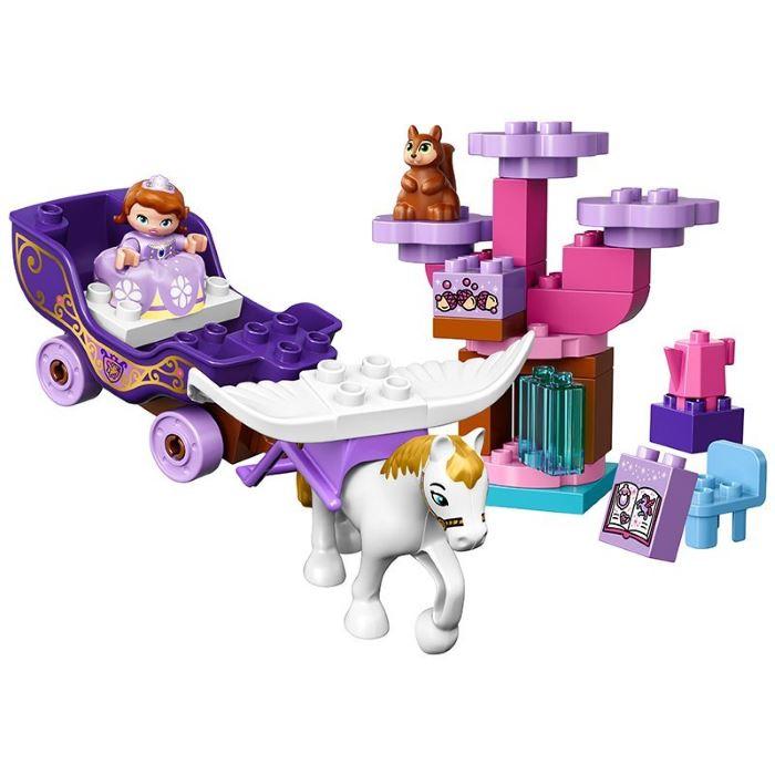 lego sofia carrozza magica