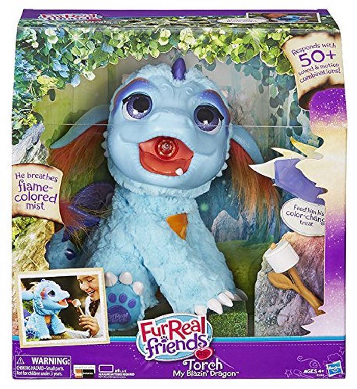 TORCH Il Mio Draghetto Sputafuoco Peluche Interattivo FurReal Friends Hasbro