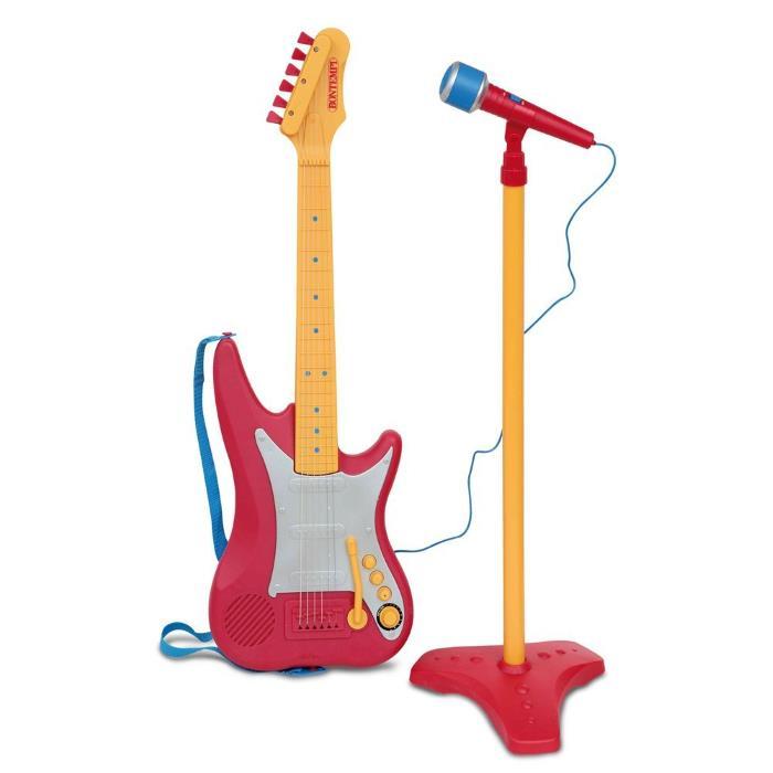 Chitarra con microfono ad asta Bontempi