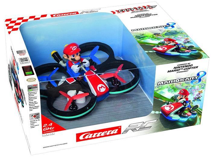 Drone Nintendo Mario Copter Carrera RC