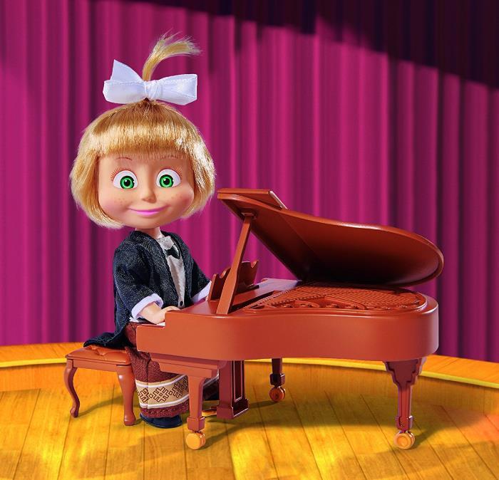 Masha pianista in concerto con musiche originali Serie tv
