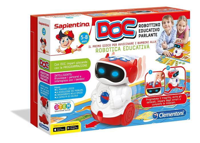 Sapientino DOC Robottino Educativo Parlante Clementoni