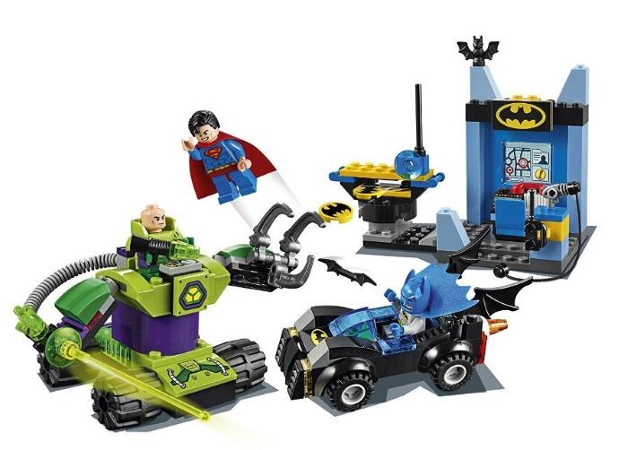 Batman e Superman vs Lex Luthor lego