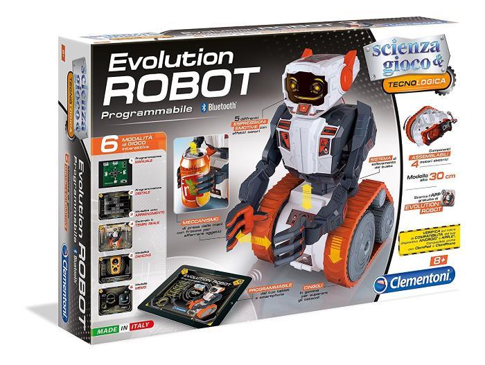 Evolution Robot di Clementoni Scienza e Gioco