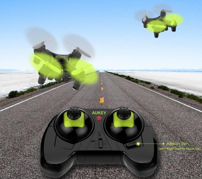 Mini drone quadricottero Aukey dal prezzo economico per principianti