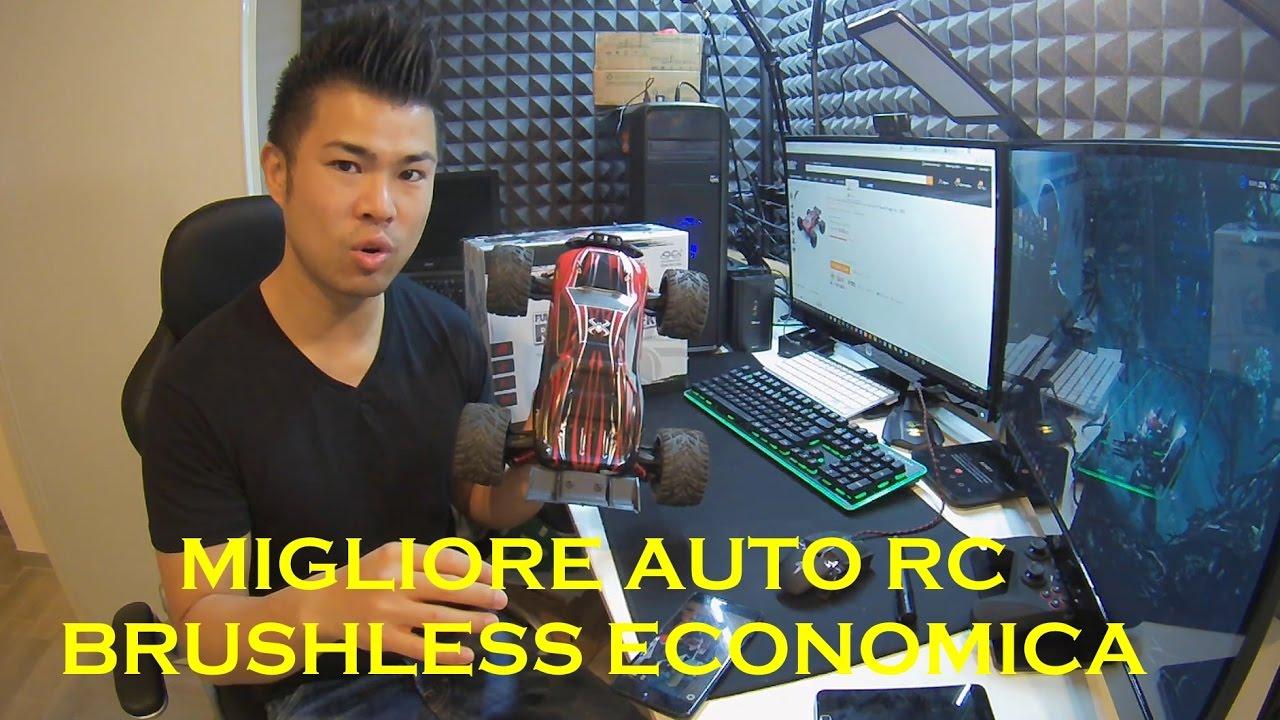 Truggy 9116: Auto elettrica RC veloce ed economica telecomandata con motore brushless