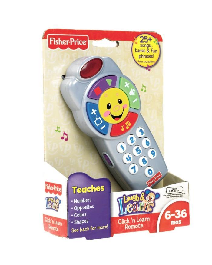 Telecomando Clicca e Impara Fisher Price