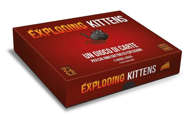 Asmodee Italia Exploding Kittens-Edizione Italiana