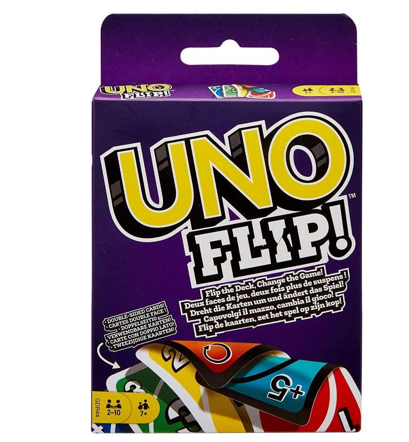 Uno Flip Mattel Games